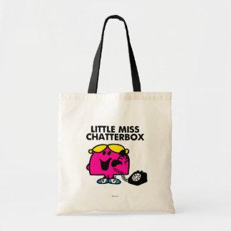 Pequeña Srta. Chatterbox y teléfono negro
