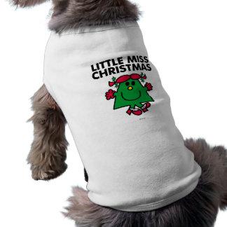 Pequeña Srta. Christmas Classic Camisetas Mascota