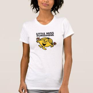 Pequeña Srta. de griterío Sunshine Tshirts