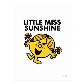 Pequeña Srta. de griterío Sunshine Postal