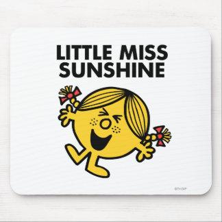 Pequeña Srta. de griterío Sunshine Tapetes De Raton