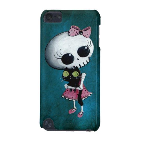 Pequeña Srta. Death - belleza de Halloween Carcasa Para iPod Touch 5