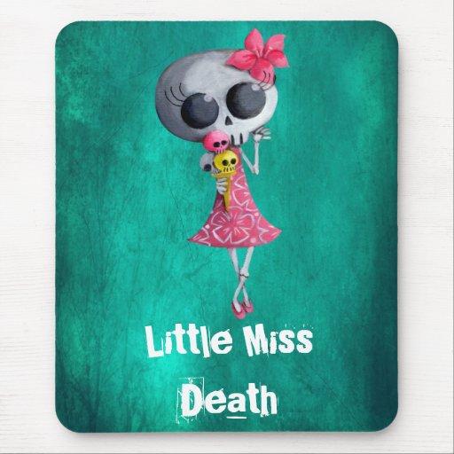 Pequeña Srta. Death con el helado - texto de Tapete De Raton