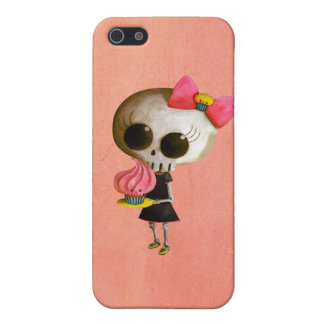 Pequeña Srta Death con la magdalena iPhone 5 Cobertura