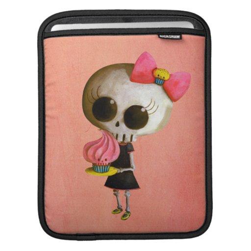 Pequeña Srta. Death con la magdalena Manga De iPad