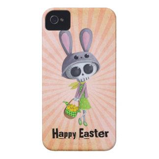 Pequeña Srta Death de Pascua iPhone 4 Case-Mate Fundas