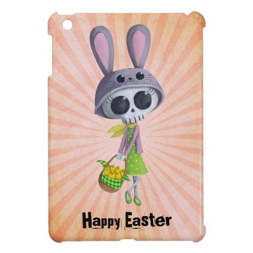 Pequeña Srta. Death de Pascua iPad Mini Carcasas