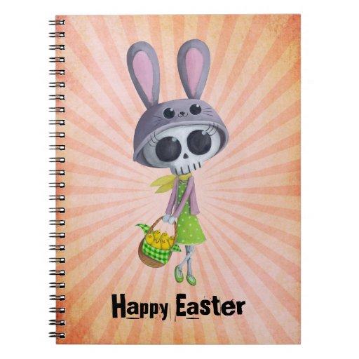 Pequeña Srta. Death de Pascua Cuadernos