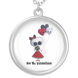 Pequeña Srta. Death Valentine Pendientes