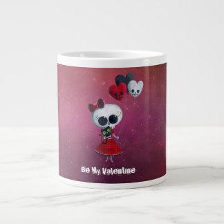 Pequeña Srta. Death Valentine Taza Grande