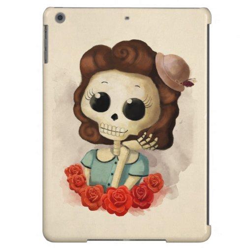 Pequeña Srta. Death y rosas