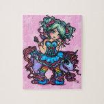 Pequeña Srta. Deelish Fairy Unicorn Fantasy Rompecabezas Con Fotos