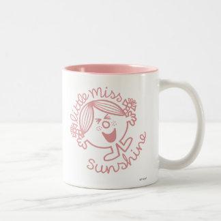 Pequeña Srta. excitable Sunshine Taza De Dos Tonos