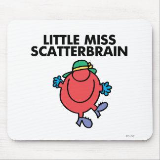 Pequeña Srta. feliz Scatterbrain Alfombrilla De Ratón