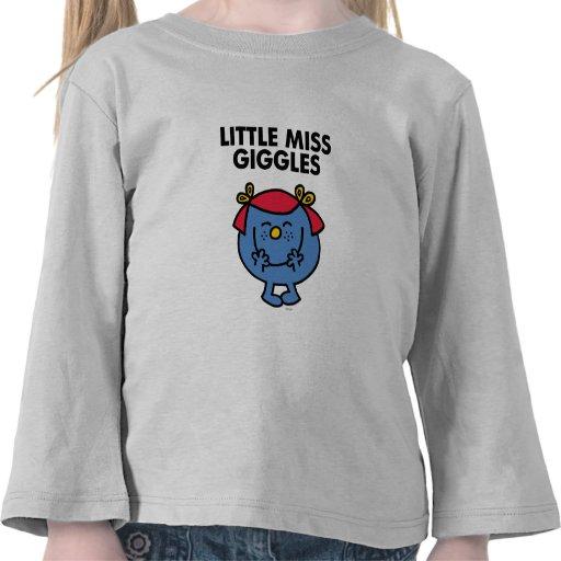 Pequeña Srta. Giggles Classic Camiseta
