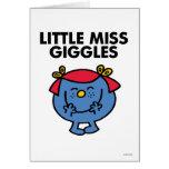 Pequeña Srta. Giggles Classic Tarjeton