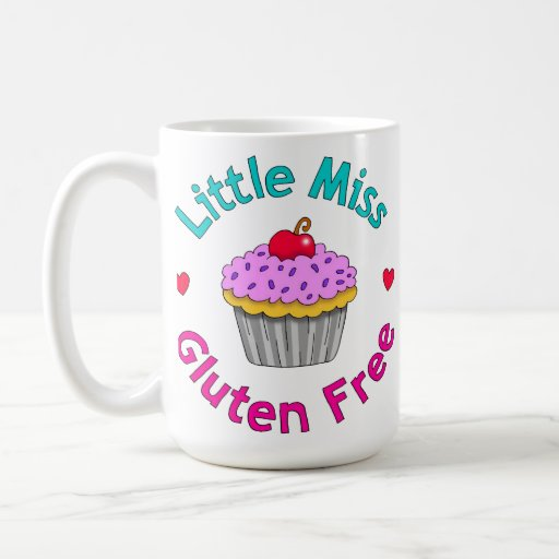 Pequeña Srta. Gluten Free Mug Taza