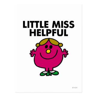 Pequeña Srta. Helpful Classic Postales