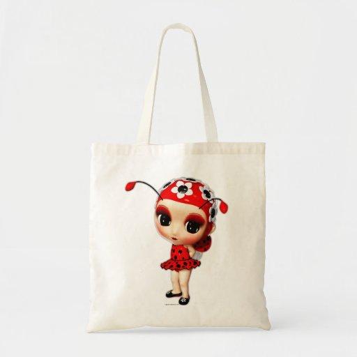 Pequeña Srta. Ladybug Bolsas