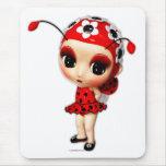 Pequeña Srta. Ladybug Mousepad Tapete De Raton