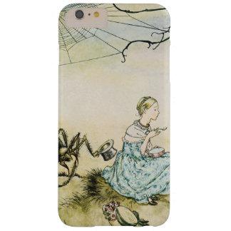 Pequeña Srta. Muffet del vintage de Arturo Rackham Funda Para iPhone 6 Plus Barely There