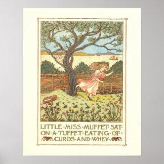 """""""Pequeña Srta. Muffet """" Posters"""