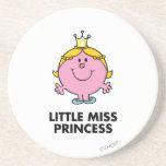Pequeña Srta. princesa Classic Posavasos Diseño