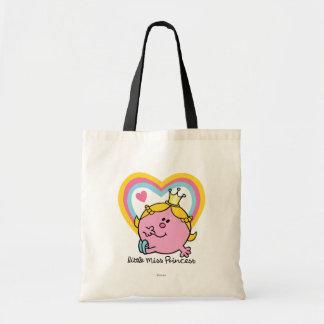 Pequeña Srta. princesa Heart Bolsa