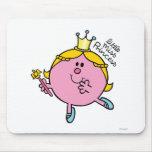 Pequeña Srta. princesa Icon 2 Tapetes De Raton