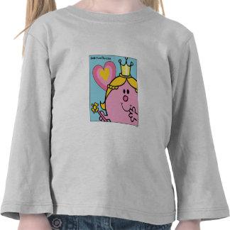 Pequeña Srta. princesa Square Camisetas