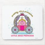 Pequeña Srta. princesa y carro Alfombrilla De Raton