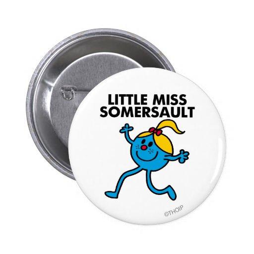 Pequeña Srta. Somersault Walking Tall Pin Redondo 5 Cm