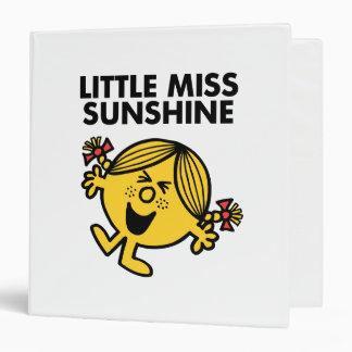 "Pequeña Srta. Sunshine Carpeta 1 1/2"""