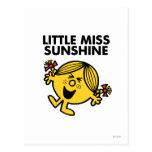 Pequeña Srta. Sunshine Classic 2 Tarjetas Postales
