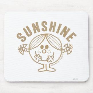 Pequeña Srta. Sunshine de Brown Tapete De Ratones