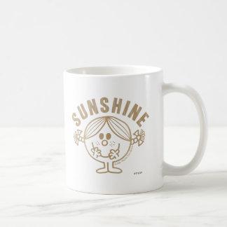 Pequeña Srta. Sunshine de Brown Taza Clásica