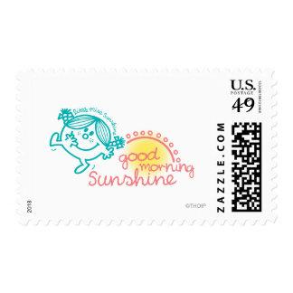 Pequeña Srta. Sunshine de la buena mañana Timbres Postales