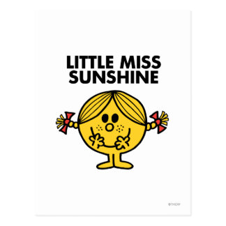 Pequeña Srta. Sunshine el | divertido y pecoso Postal
