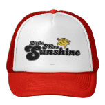 Pequeña Srta. Sunshine Logo 3 Gorro De Camionero