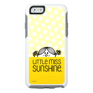Pequeña Srta. Sunshine Peeking Over Name Funda Otterbox Para iPhone 6/6s