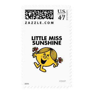 Pequeña Srta. Sunshine Timbre Postal