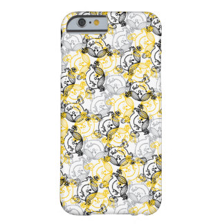 Pequeña Srta. Sunshine Yellow Character Pattern Funda De iPhone 6 Barely There