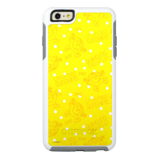 Pequeña Srta. Sunshine Yellow y modelo de lunar Funda Otterbox Para iPhone 6/6s Plus