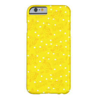 Pequeña Srta. Sunshine Yellow y modelo de lunar Funda Para iPhone 6 Barely There