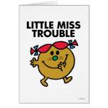 Pequeña Srta. Trouble Classic 2 Felicitaciones