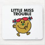Pequeña Srta. Trouble Classic 2 Tapetes De Raton