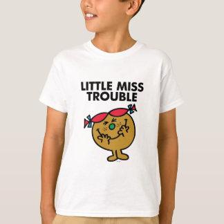 Pequeña Srta. Trouble el | que ríe Playera