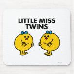 Pequeña Srta. Twins Classic Alfombrilla De Ratón