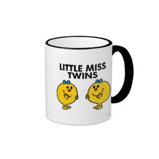 Pequeña Srta. Twins el   dos mucha diversión Taza A Dos Colores
