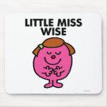 Pequeña Srta. Wise Classic Tapete De Raton